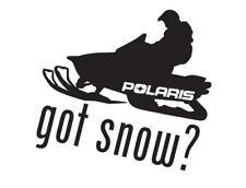 Got Snow? w/ Polaris Snowmobile Decal-2 For The Price Of 1 -Arctic Cat, Ski-Doo