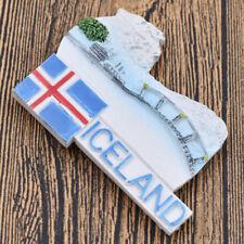 3D Iceland Blue Lake Refrigerator Fridge Magnet Travel Scenery Souvenir Gifts