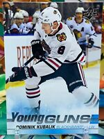 2019-20 Upper Deck Dominik Kubalik Young Guns Rookie YG RC #246 Blackhawks MINT