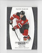 2011-12 Dominion #18 Zach Parise Devils 125/199