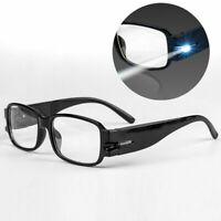 LED Magnifying Eyeglass Mighty Sight Eye Wear 160% Magnification Reading Glass
