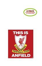 Liverpool FC Sticker Vinyl Decal 4 Pack