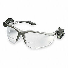 3M Bifocal Safety Read Glasses,+2.00,Clear, 11478-00000-10