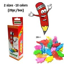 Pencil Grips for Kids Handwriting Fish Dolphin Training Grip Pen Holder 20 pc
