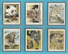 VICTORIA  GALLERY - 10  SETS  OF  20  ENDANGERED  WILD  ANIMALS  CARDS  -  1992