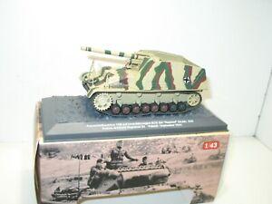 IXO ALTAYA 1:43 char HUMMEL poland régiment 23    militaire ref: 97