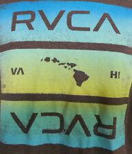 RVCA Artist Network HAWAIIAN ISLANDS Print T Shirt Large