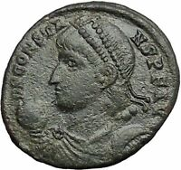 Constans Gay Emperor Constantine the Great son RARE Ancient Roman Coin i54818