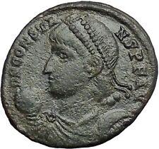 Constans Gay Emperor Constantine the Great son RARE Ancient Roman Coin i54818