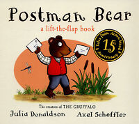 Tales from Acorn Wood: Postman Bear: a lift-the-flap book by Julia Donaldson