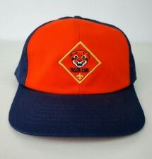 Vintage 90s Cub Scouts Tiger Cub Hat Boys Snapback Adjustable M/L USA MADE