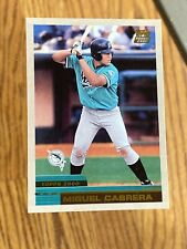 2000 Topps Traded Miguel Cabrera Florida Marlins Baseball Rookie Card