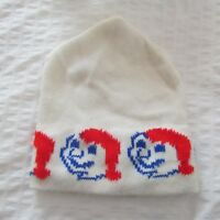 VINTAGE CARNAVAL de QUEBEC winter snow HAT TOQUE BEANIE TUQUE BONHOMME