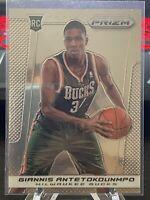 2013-14 Panini Prizm #290 Giannis Antetokounmpo Milwaukee Bucks Rookie 🔥