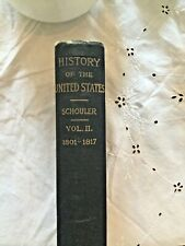 1882 Schouler History of the United States 1801-1817