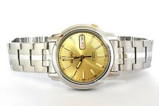 SEIKO 5 Mens Automatic Watch Stainless Steel Crystal Glass 21 Jewels SNKL81K1