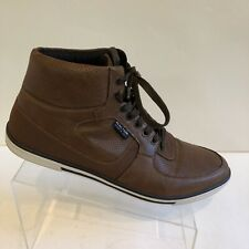 Kenneth Cole Reaction Brown Highest Crown High Top Men Sneakers 12M (UK11, EU46)