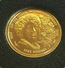 1990 / 2000  1/25  gold coin   24 ct gold .999 pure
