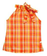 Oshkosh Haltered Blouse/Top Plaid #1 Size 6 ( for 5-6  years old)