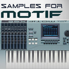 High Quality SAMPLES for YAMAHA MOTIF 6/7/8 ES XS XF MOXF KEYMAPS READY TO PLAY