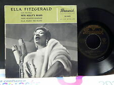 ELLA FITZGERALD Pete Kelly's Blues BRUNSWICK 10033