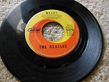 THE BEATLES 45 RPM HELP AND I'M DOWN #5476 CAPITAL RECORDS