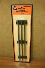 """LIONEL 6-12840 O GAUGE TUBULAR INSULATED TRACK 10"""" STRAIGHT SECTION"""