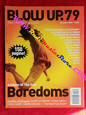 Rivista BLOW UP 79/2004 Boredoms John Butcher Mauro Pagani Kompakt Solex No cd *