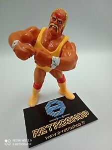 Figurine catcheur Hulk Hogan V1 WWE WWF HASBRO 1990 Titan sport
