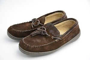 Clarks Men's Rudy Slippers Brown US 11M Slightly Used