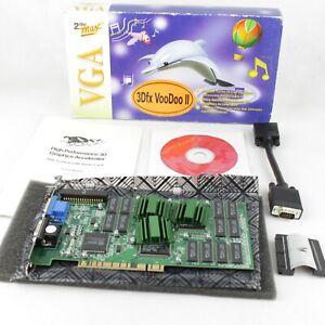 VGA 3Dfx VooDoo II 12MB EDO Ram PCI (Boxed and complete)