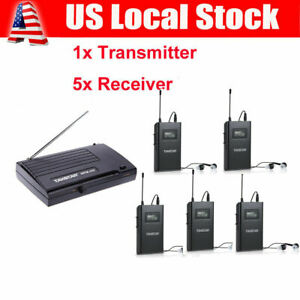 Takstar WPM-200 Wireless In-Ear Stage Monitor System Transmitter Receiver a D8K3