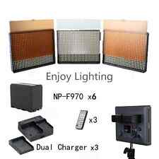 Aputure Amaran 2x HR672W + HR672S CRI 95+ LED Video Light Panel Kit, 6* NP-F970