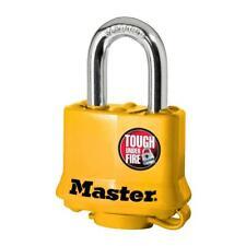 Master Lock 1-9/16 in. Weather Resistant Laminated Steel Padlock