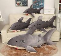 Hot Sale Big Shark Stuffed Animal Soft Plush Doll Pillow Cushion Toy 75/95/120CM