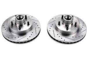 For 1971-1972 Chevrolet Brookwood Brake Rotor Set Front Power Stop 36158PX