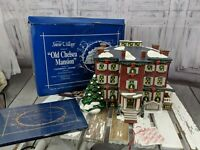 dept 56 village xmas christmas 54903 snow old Chelsea Mansion Clement moore st