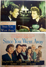 1944 Original 3 LOBBY CARD PHOTOS Movie SINCE YOU WENT AWAY Film COTTEN COLBERT