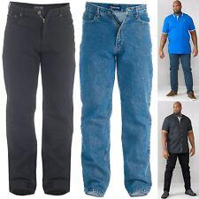 """Mens Rockford Denim Jeans Straight Fit Big Kingsize Rj920 Size 42"""" - 60"""" Waist 58"""" Regular 58 X 32"""