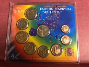 Spagna Espagne Spanien 2005 con 2 euro Commemorativo Divisionale FDC