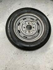 "Austin, Rover or Morris Mini 12"" Steel Wheel + BRAND NEW NANKANG TYRE 146/70/12"