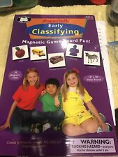 Superduper Publications Magnetalk Early Classifying Magnetic Board Game Comoekrw