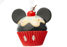 BNWT Disney Store 2019 Mickey Mouse Cupcake Christmas Tree Decoration