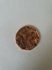 5-Euro-Kupfermünze Österreich NEUJAHR 2014