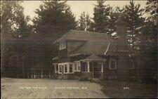North Conway NH Pine Tree Tea Room c1915 Real Photo Postcard