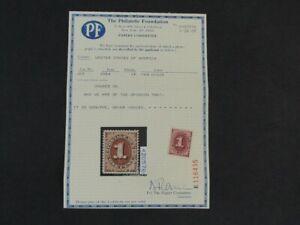 Nystamps US Postage Due Stamp # J15 Mint OG NH $200 PF Certificate j9x