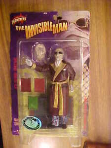 Claude Rains, The Invisible Man, Universal Monsters 2000 Sideshow NRFB Ser 3