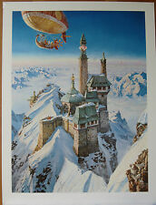 James Gurney Palace In The Clouds Limited Ed Realism Art Fantasy Large Print