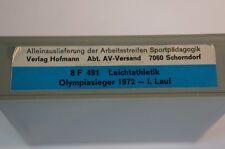 Super 8 Film S8 mm Leichtathletik  FWU Lehrer Sportunterricht Sport 70er 491