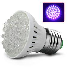E27 Super Bright UV Ultraviolet Purple LED Flood Lights Lamp Bulb AC 110V 38LED
